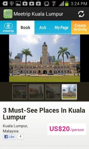 Androidアプリ「マレーシア旅行ガイド:クアラルンプール地元オススメ観光ツアー」のスクリーンショット 2枚目