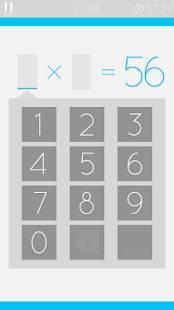 Androidアプリ「あそんでまなべる 九九」のスクリーンショット 4枚目