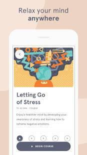 Androidアプリ「Headspace: Meditation & Sleep」のスクリーンショット 5枚目