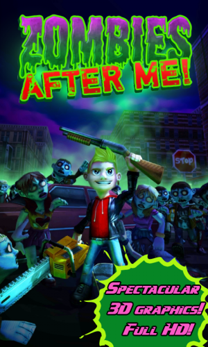 Androidアプリ「Zombies After Me!」のスクリーンショット 1枚目