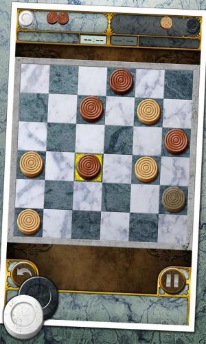 Androidアプリ「Checkers 2」のスクリーンショット 1枚目