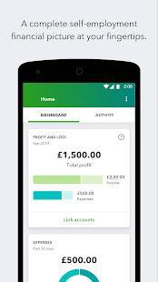 Androidアプリ「QuickBooks Accounting: Invoicing & Expense Tracker」のスクリーンショット 4枚目