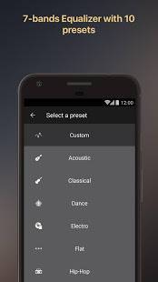 Androidアプリ「Equalizer Music Player Booster」のスクリーンショット 5枚目