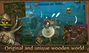Androidアプリ「First Wood War」のスクリーンショット 2枚目