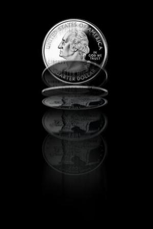 Androidアプリ「Coin Flip Free」のスクリーンショット 1枚目