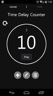 Androidアプリ「トレーニングツール (カウンター&タイマー)」のスクリーンショット 2枚目