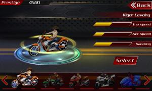 Androidアプリ「バイクカーブハリケーン」のスクリーンショット 3枚目
