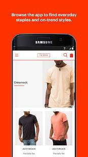 Androidアプリ「JackThreads: Men's Shopping」のスクリーンショット 2枚目