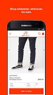 Androidアプリ「JackThreads: Men's Shopping」のスクリーンショット 3枚目