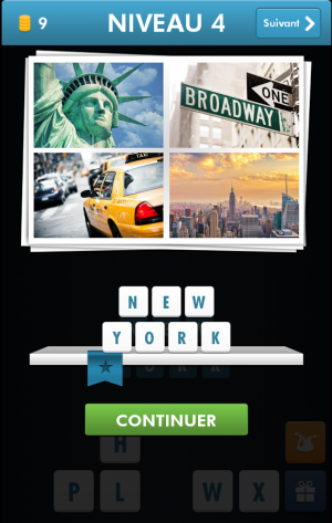 Androidアプリ「City Quiz - Guess the city」のスクリーンショット 5枚目