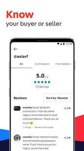 Androidアプリ「Carousell: Snap-Sell, Chat-Buy」のスクリーンショット 3枚目