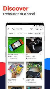Androidアプリ「Carousell: Snap-Sell, Chat-Buy」のスクリーンショット 5枚目