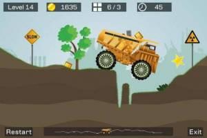 Androidアプリ「Big Truck --best mine truck express simulator game」のスクリーンショット 1枚目