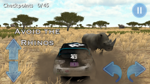 Androidアプリ「Rally Race 3D : Africa 4x4+」のスクリーンショット 3枚目
