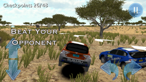 Androidアプリ「Rally Race 3D : Africa 4x4+」のスクリーンショット 1枚目