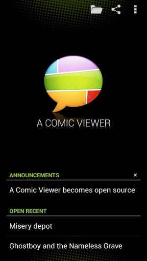 Androidアプリ「A Comic Viewer」のスクリーンショット 2枚目