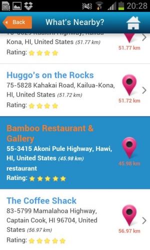 Androidアプリ「ハワイ観光ガイド」のスクリーンショット 3枚目