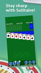 Androidアプリ「ソリティア- Solitaire」のスクリーンショット 1枚目