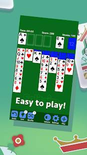 Androidアプリ「ソリティア- Solitaire」のスクリーンショット 2枚目