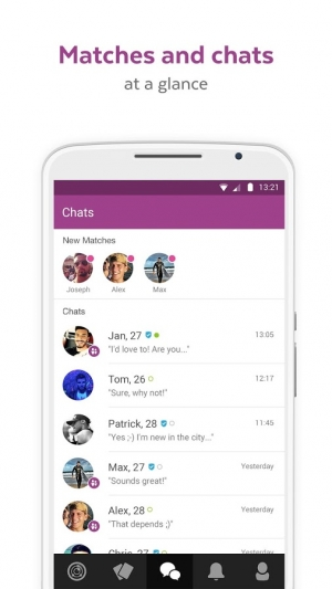 Androidアプリ「LOVOO - Chat & Dating App」のスクリーンショット 5枚目