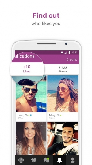 Androidアプリ「LOVOO - Chat & Dating App」のスクリーンショット 4枚目