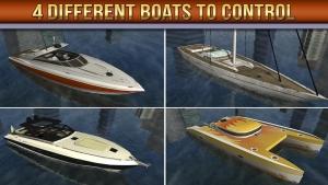 Androidアプリ「3D ボート駐艇シミュレーターゲーム」のスクリーンショット 3枚目