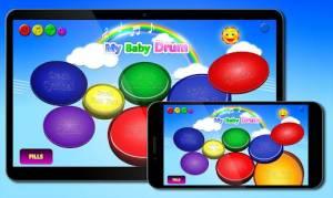 Androidアプリ「私の赤ちゃん ドラム」のスクリーンショット 2枚目
