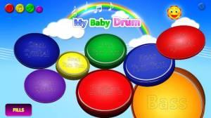 Androidアプリ「私の赤ちゃん ドラム」のスクリーンショット 3枚目