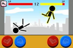 Androidアプリ「格闘ゲーム「木拳」:棒人間オンライン対戦の暇つぶしゲーム」のスクリーンショット 5枚目