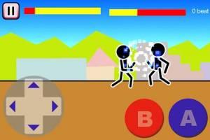 Androidアプリ「格闘ゲーム「木拳」:棒人間オンライン対戦の暇つぶしゲーム」のスクリーンショット 2枚目