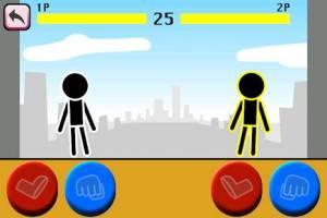 Androidアプリ「格闘ゲーム「木拳」:棒人間オンライン対戦の暇つぶしゲーム」のスクリーンショット 4枚目