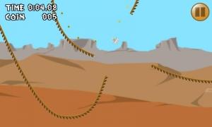 Androidアプリ「ポンコツ☆トロッコ 1タップゲーム 超低性能車でレッツゴー!」のスクリーンショット 2枚目