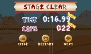 Androidアプリ「ポンコツ☆トロッコ 1タップゲーム 超低性能車でレッツゴー!」のスクリーンショット 3枚目
