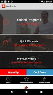 Androidアプリ「You Are Your Own Gym by Mark Lauren」のスクリーンショット 2枚目