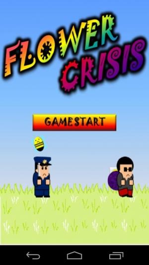 Androidアプリ「Flower Crisis」のスクリーンショット 1枚目