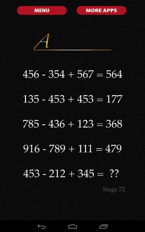 Androidアプリ「謎解き・脱出ゲーム 数字の迷宮」のスクリーンショット 3枚目
