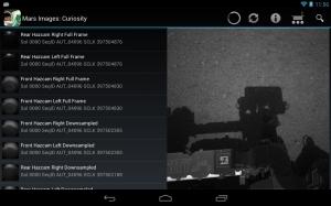 Androidアプリ「Mars Images」のスクリーンショット 5枚目