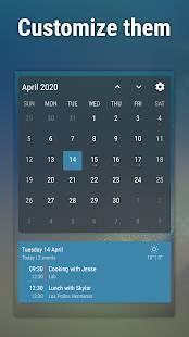 Androidアプリ「Event Flow Calendar Widget」のスクリーンショット 5枚目