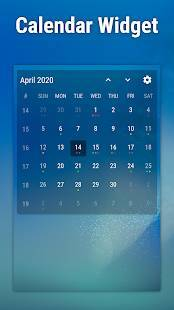 Androidアプリ「Event Flow Calendar Widget」のスクリーンショット 3枚目