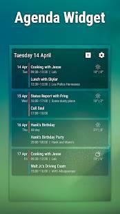 Androidアプリ「Event Flow Calendar Widget」のスクリーンショット 2枚目