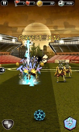 Androidアプリ「Undead Soccer」のスクリーンショット 1枚目