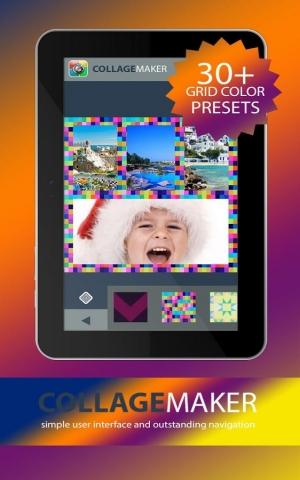 Androidアプリ「コラージュメーカーフォトエディタ」のスクリーンショット 5枚目