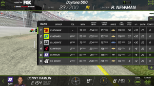 Androidアプリ「NASCAR RACEVIEW MOBILE」のスクリーンショット 4枚目