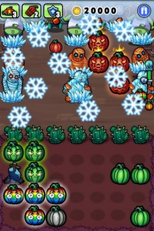 Androidアプリ「Pumpkins vs. Monsters」のスクリーンショット 3枚目