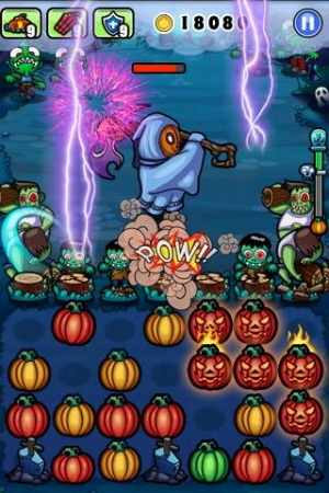 Androidアプリ「Pumpkins vs. Monsters」のスクリーンショット 1枚目