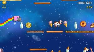 Androidアプリ「Nyan Cat: Lost In Space」のスクリーンショット 1枚目
