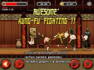 Androidアプリ「KungFu Quest : The Jade Tower」のスクリーンショット 1枚目