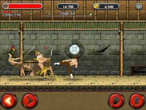 Androidアプリ「KungFu Quest : The Jade Tower」のスクリーンショット 2枚目