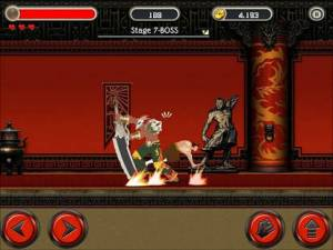 Androidアプリ「KungFu Quest : The Jade Tower」のスクリーンショット 3枚目