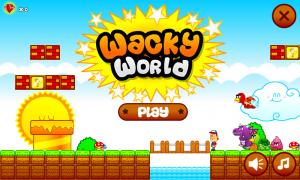 Androidアプリ「Wacky World」のスクリーンショット 4枚目